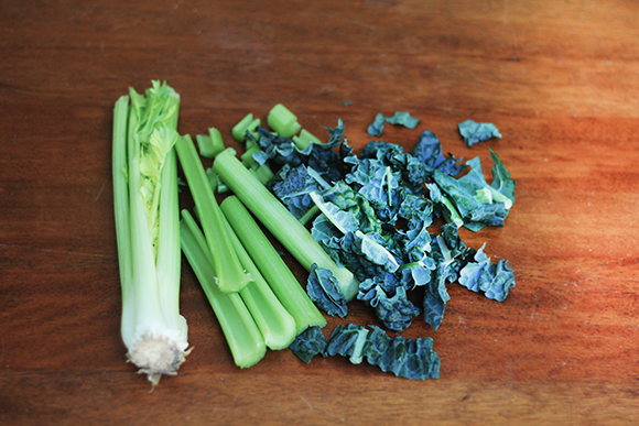 Celery-and-kale